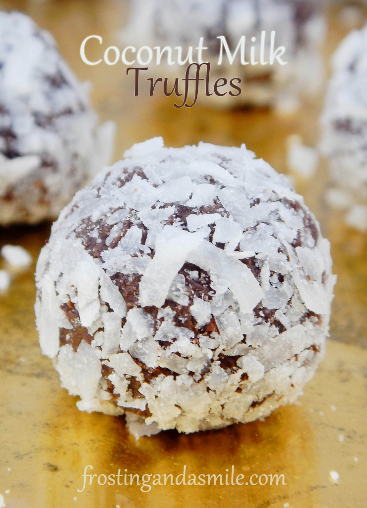 Coconut Milk Truffles