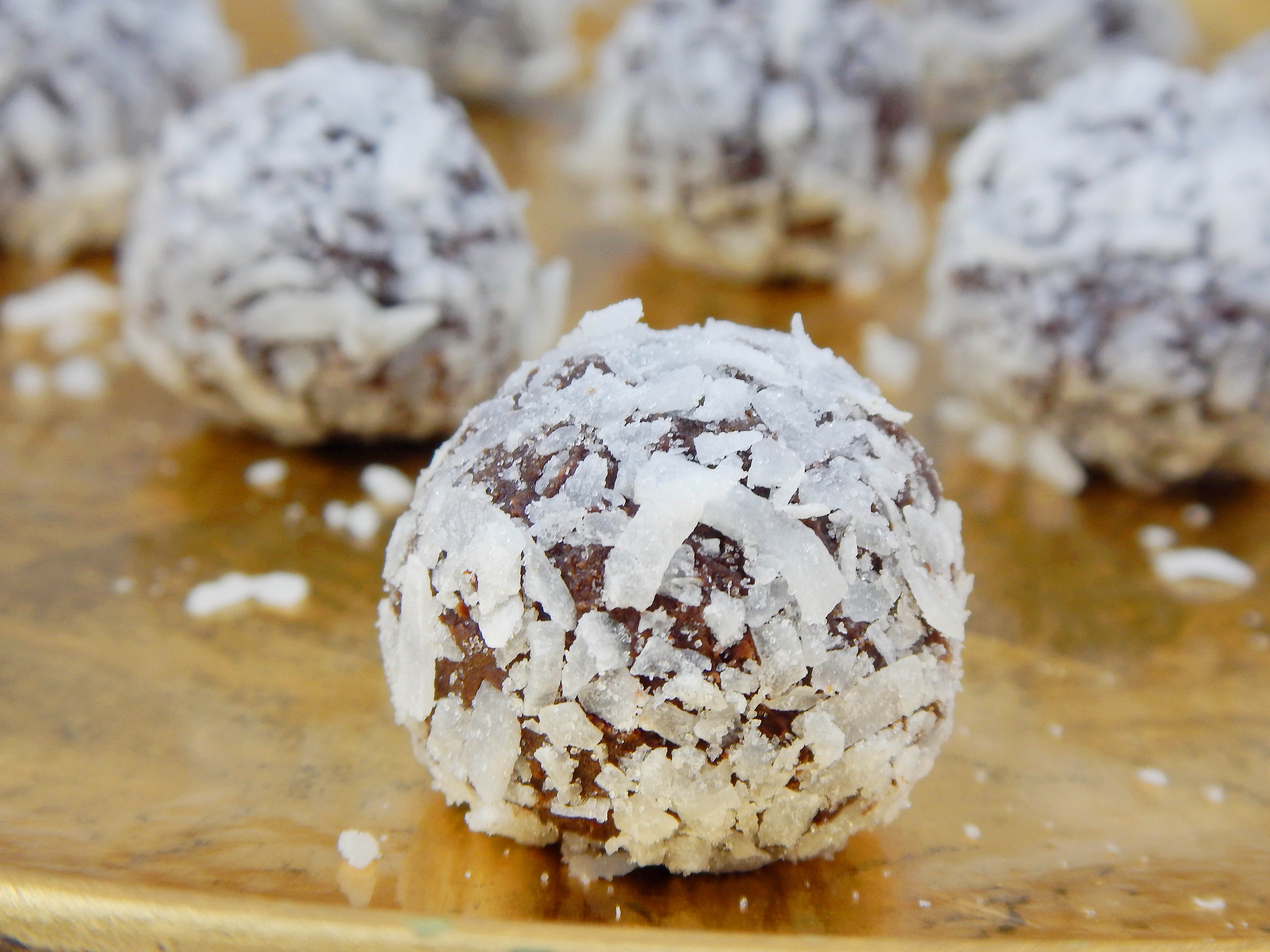 Coconut Milk Truffles | Frosting and a Smile