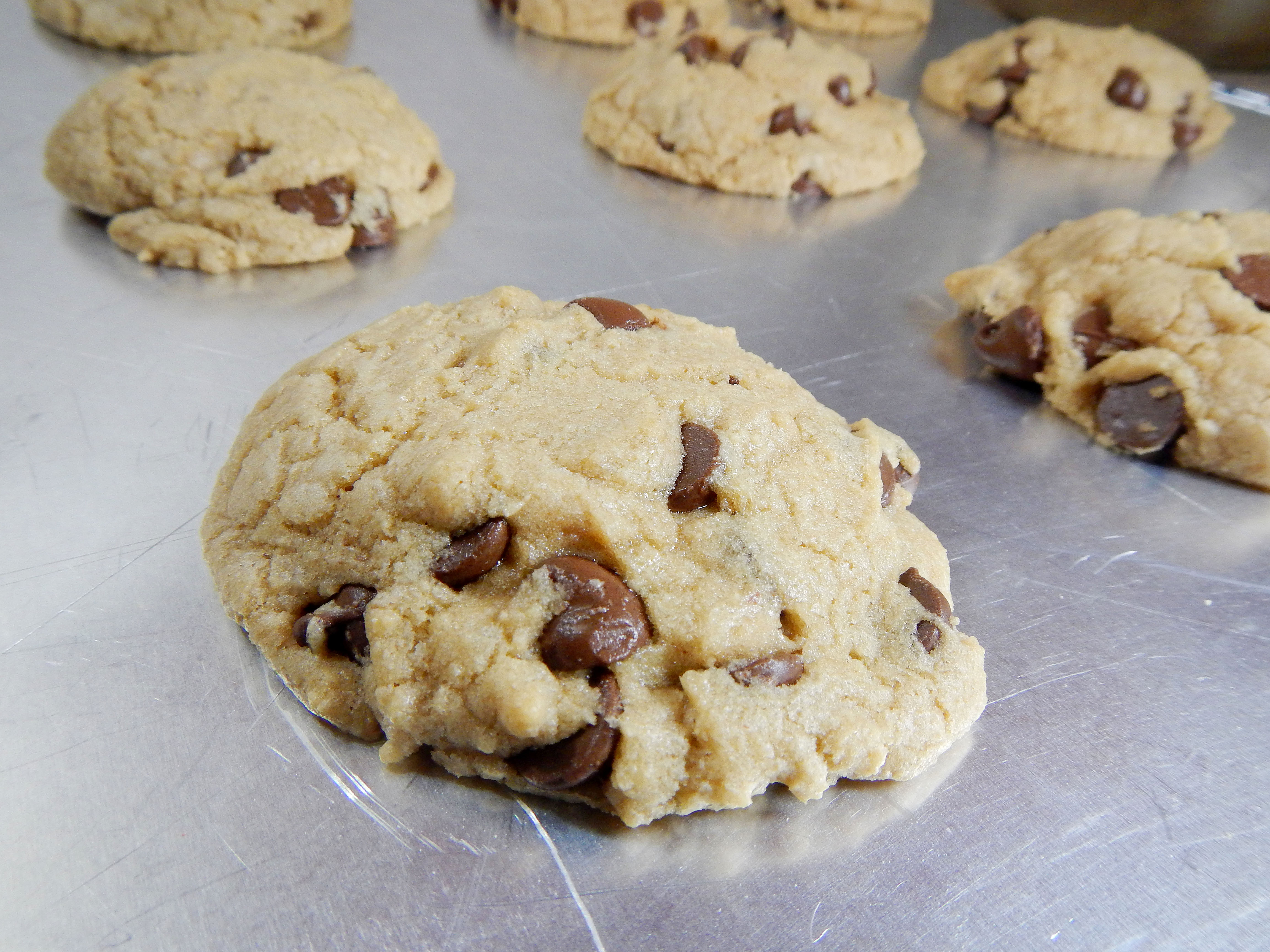 Old fashioned chocolate chip cookie 50