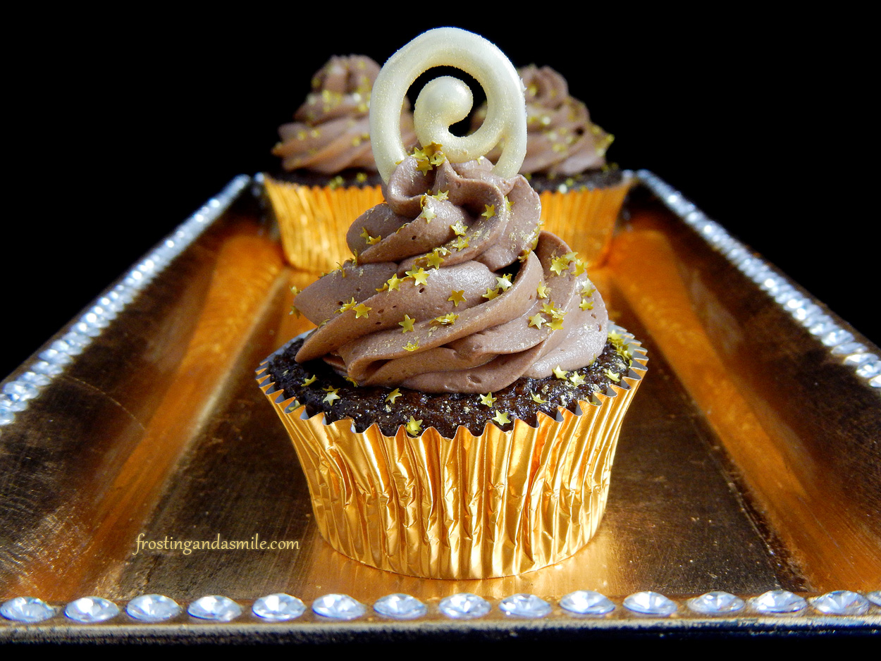 Champagne Chocolate Frosting