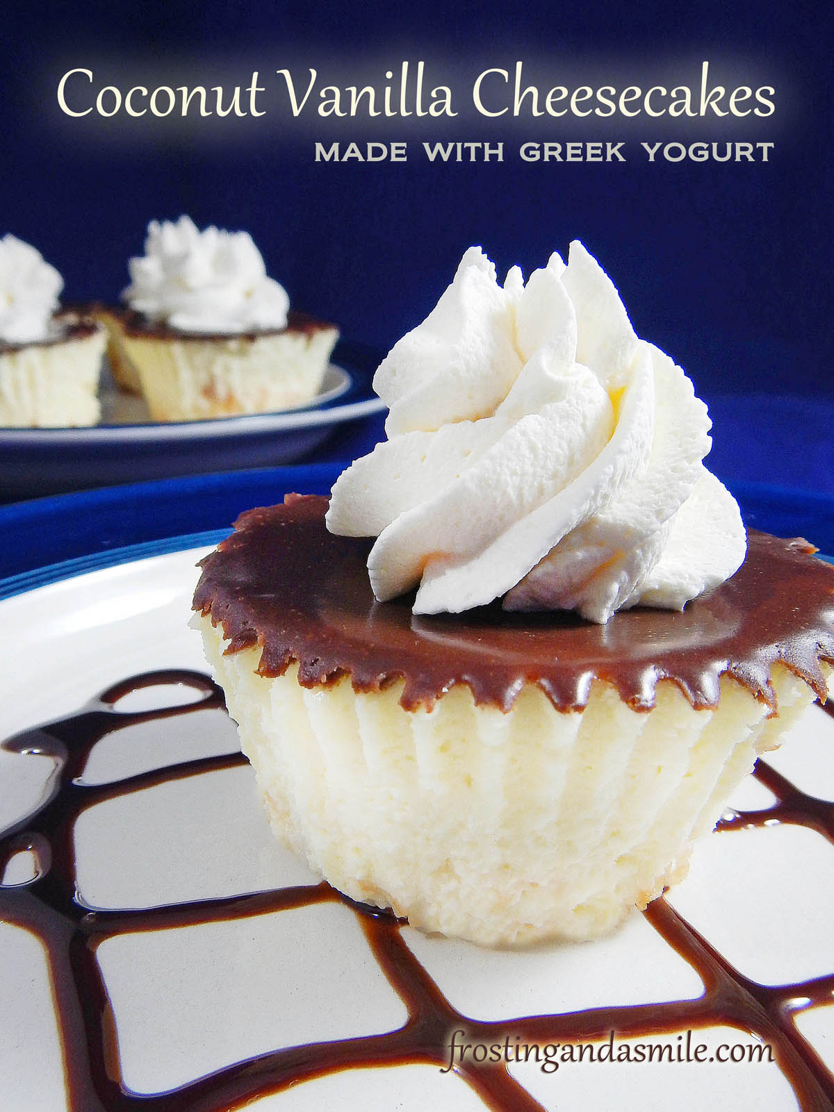 Vanilla Cheesecake With Chocolate Glaze Recipe — Dishmaps
