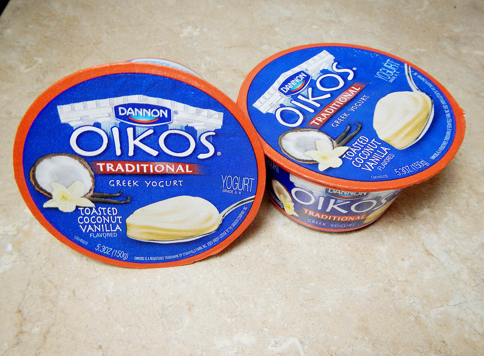 Secret Cheesecake Ingredient, Coconut Vanilla Oikos Greek Yogurt