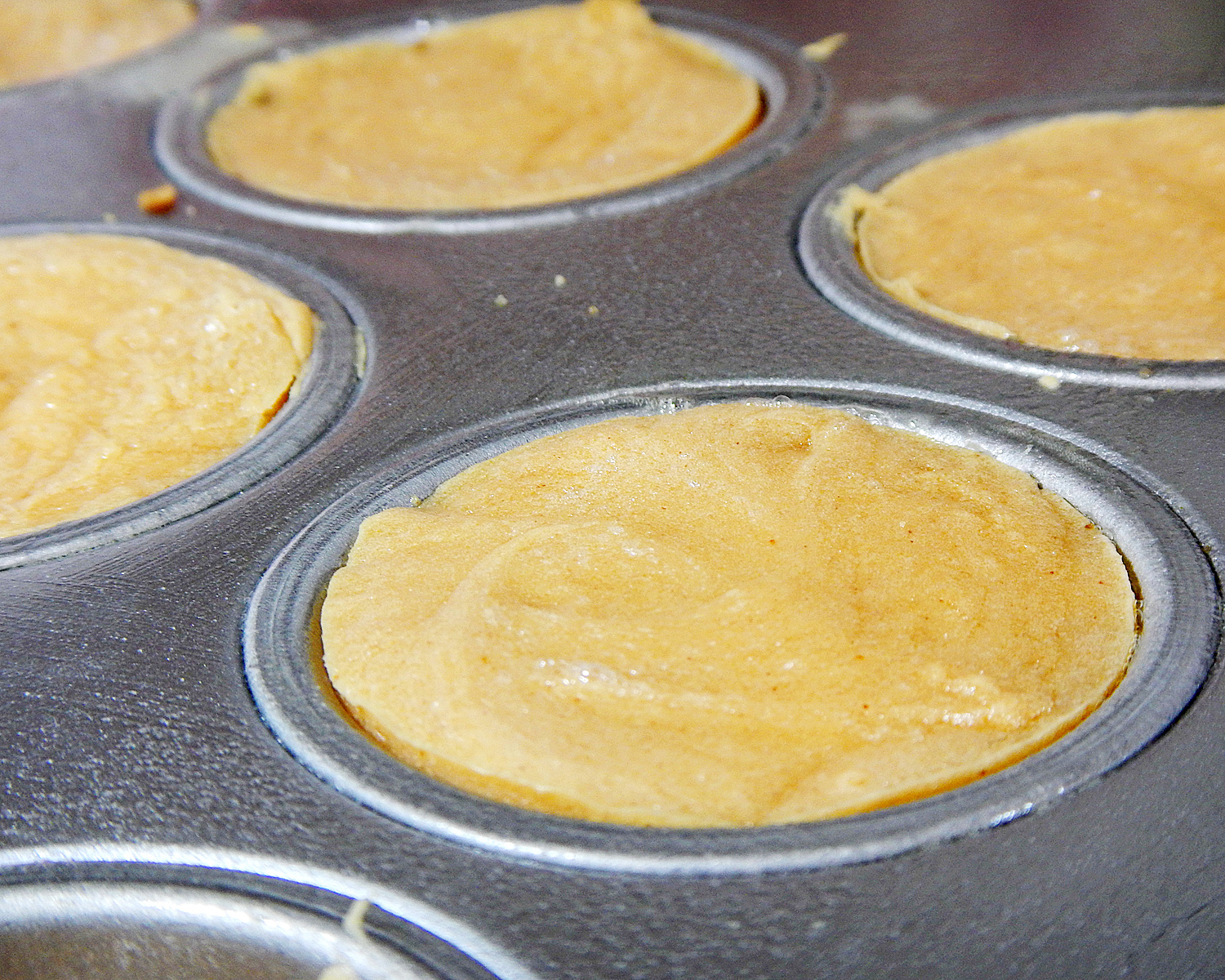 Peanut Butter Cheesecakes in Pan