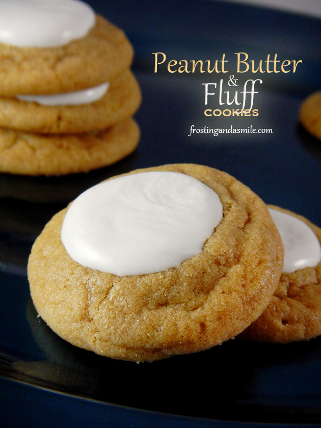 Peanut Butter and Fluff Cookies | Frosting and a Smile