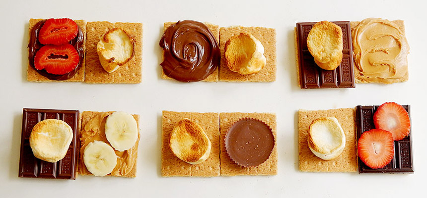 Seven Unique S'more Recipes