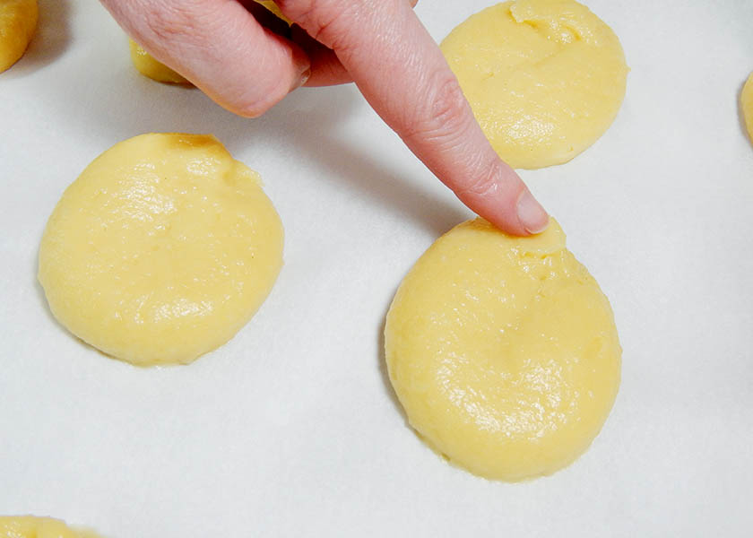 Hand Shaping Pate A Choux for Eclairs