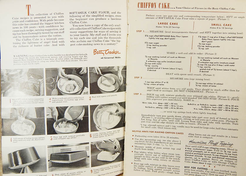 Original Chiffon Cake Recipe