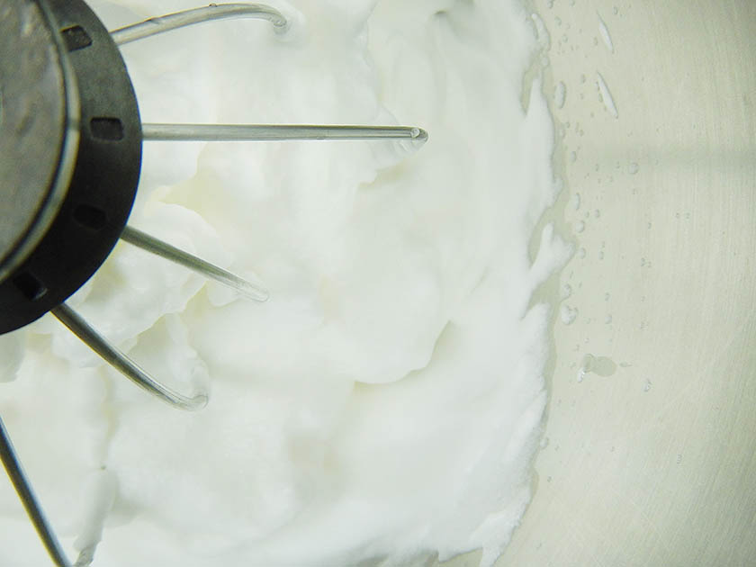 Beating Egg Whites for Chiffon Cake