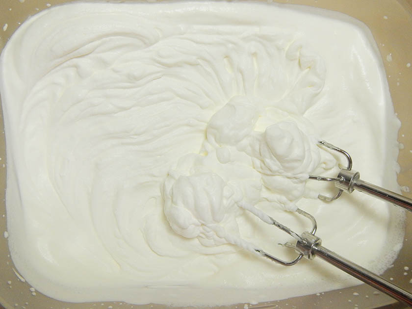 A container of whipped cream